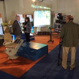 Entrevista televisión ciudad real a redel Salvaescaleras